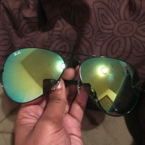 Brand new Ray-Ban Green lenses